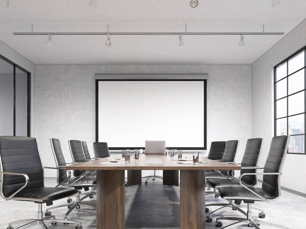La sala de reuniones