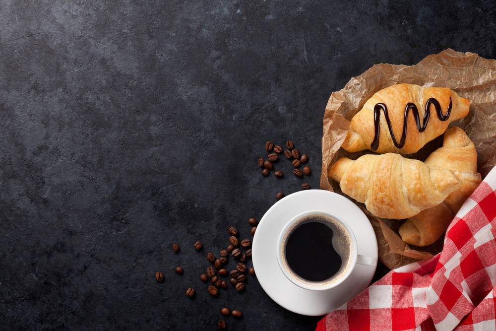 Pan y café, ¿necesitas algo más para empezar el día con buen pie?